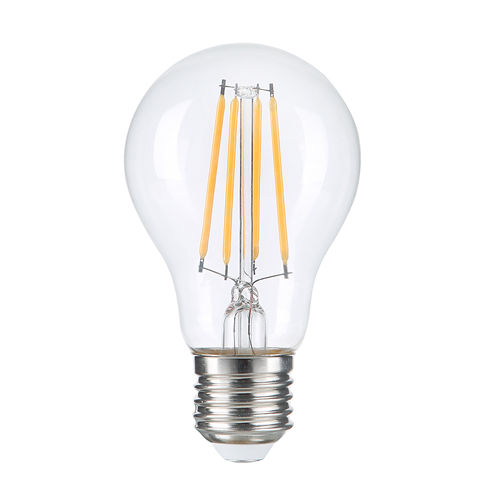 1323 :: AMPOULE E27 FILAMANT CLEAR GLASS BLANC CHAUD 8W DIMMABLE