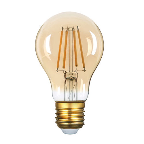 1324 :: AMPOULE E27 FILAMANT GOLDEN GLASS BLANC CHAUD 8W DIMMABLE