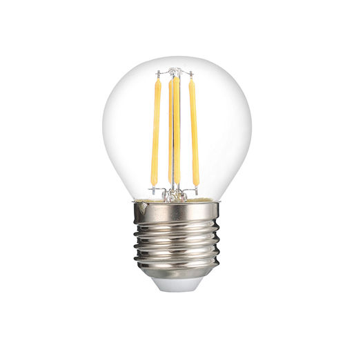 1325 :: AMPOULE E27 G45 BLANC CHAUD 4W DIMMABLE