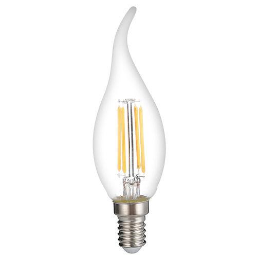 1415-AMPOULE LED E14  FLAMME TORSADEE COUP DE VENT  C35T BLANC CHAUD 4W DIMMABLE :: + infos - Devis