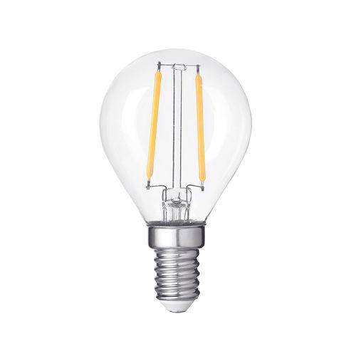 1417-AMPOULE LED E14  RONDE BLANC CHAUD 4W DIMMABLE :: + infos - Devis