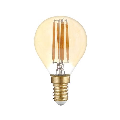 1418-AMPOULE LED E14  RONDE BLANC CHAUD 4W DIMMABLE :: + infos - Devis