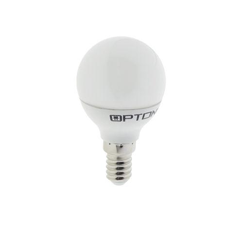 1447 :: AMPOULE LED E14  RONDE BLANC PUR 6W
