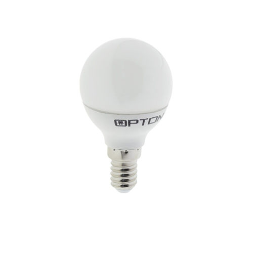 1448 :: AMPOULE LED E14  RONDE BLANC NATUREL 6W