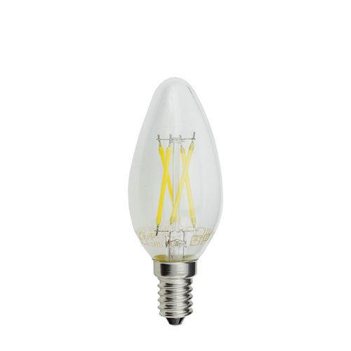 1469 :: AMPOULE LED E14 FLAMME C35  4W BLANC NATUREL DIMMABLE
