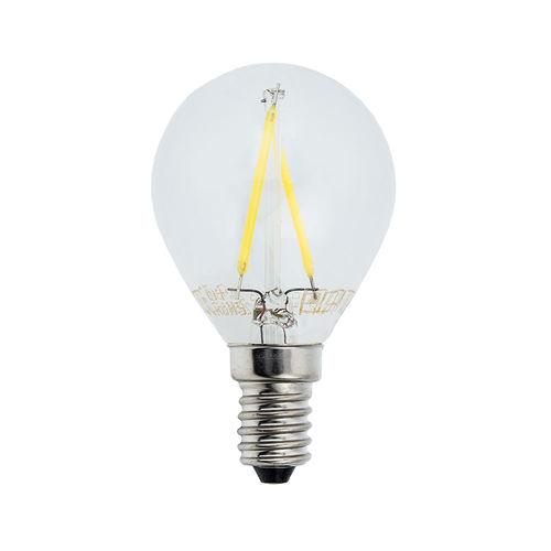 1475 :: AMPOULE LED E14  RONDE BLANC NATUREL 2W