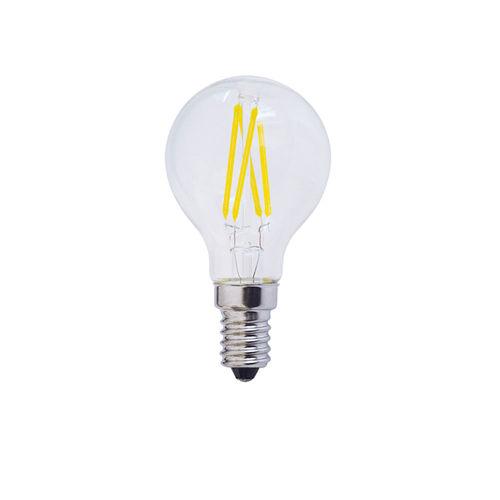1478 :: AMPOULE LED E14  RONDE BLANC NATUREL 4W