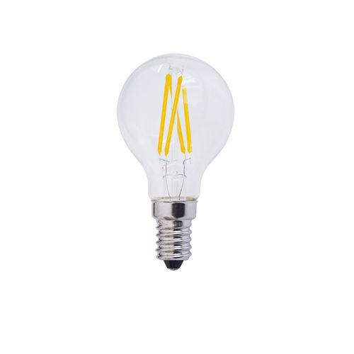 1479 :: AMPOULE LED E14  RONDE BLANC CHAUD 4W