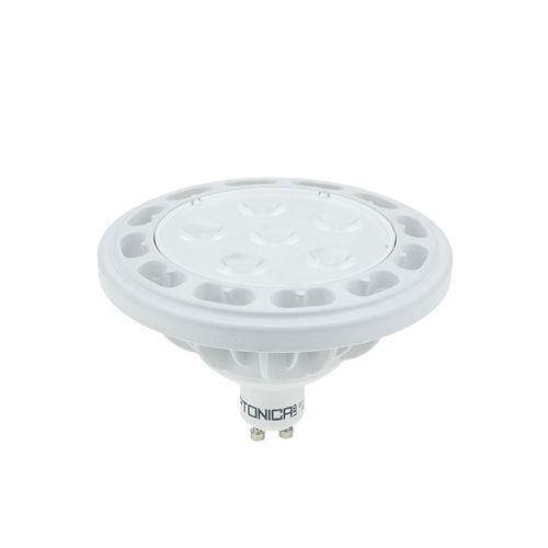 3L1525 :: SPOT LED AR111 G10 BLANC CHAUD 12W 220V