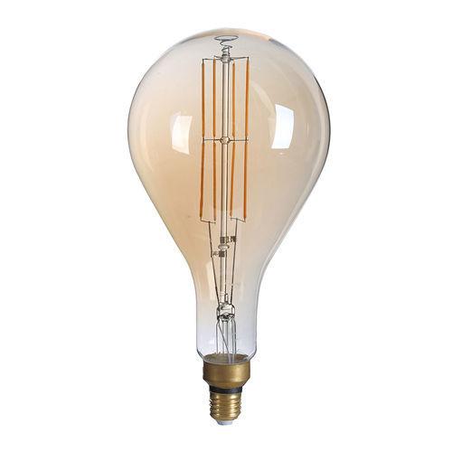 1790 :: AMPOULE E27 GOLDEN GLASS BLANC FEU 8W