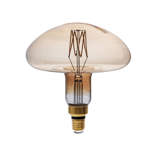 1793 :: AMPOULE E27 GOLDEN GLASS BLANC FEU  8W