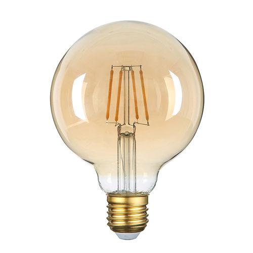 1794-AMPOULE E27 GOLDEN GLASS BLANC CHALEUR 4W :: + infos - Devis