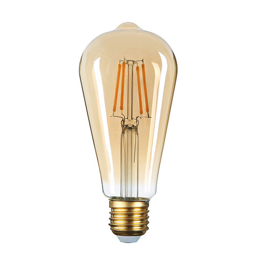 1795 :: AMPOULE E27 GOLDEN GLASS BLANC CHALEUR 4W