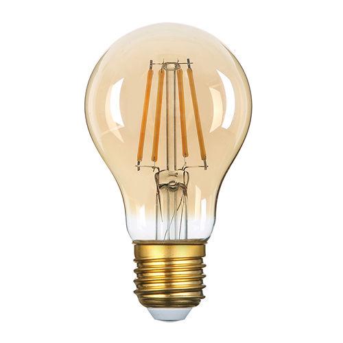 1796-AMPOULE E27 GOLDEN GLASS BLANC CHALEUR 8W :: + infos - Devis