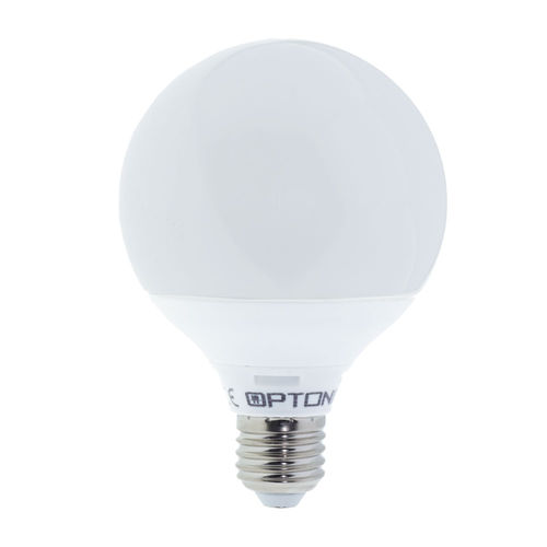1844 :: AMPOULE E27 G95 BLANC CHAUD 12W DIMMABLE