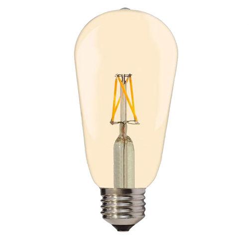 1870 :: AMPOULE E27 FILAMANT GOLDEN GLASS BLANC CHAUD 4W