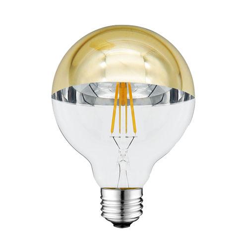 1889-AMPOULE E27 DEMI GOLDEN GLASS BLANC CHAUD 4W :: + infos - Devis