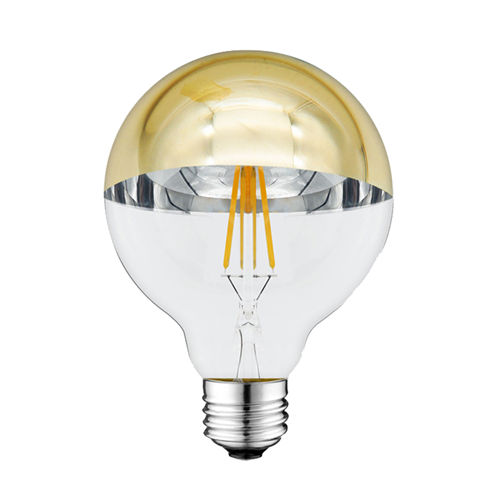 1889 :: AMPOULE E27 DEMI GOLDEN GLASS BLANC CHAUD 4W
