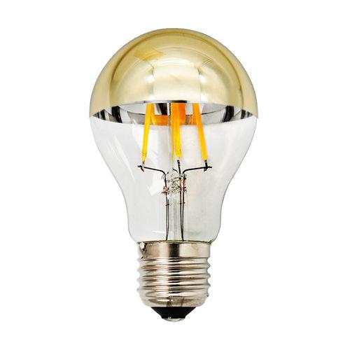 1896 :: AMPOULE E27 DEMI GOLDEN GLASS BLANC CHAUD 7W