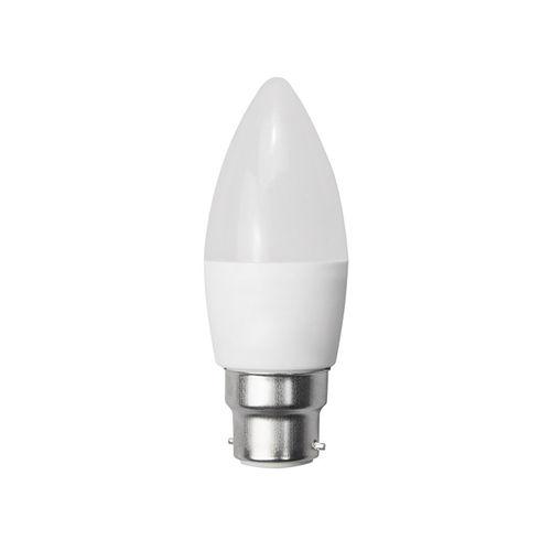 1952-AMPOULE LED FLAMME B22  BLANC CHAUD 6W :: + infos - Devis