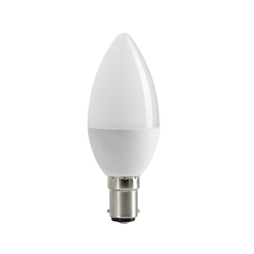 1956-AMPOULE LED FLAMME B15  BLANC CHAUD 6W :: + infos - Devis