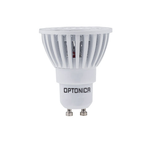 1965-SPOT LED GU10 BLANC CHAUD 6W 220V DIMMABLE :: + infos - Devis