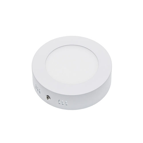2232 :: PLAFONNIER LED SURFACE ROND 6W BLANC CHAUD