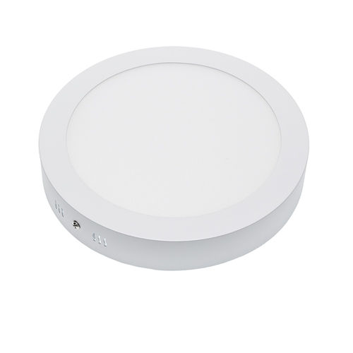 2236 :: PLAFONNIER LED SURFACE ROND 18W BLANC CHAUD