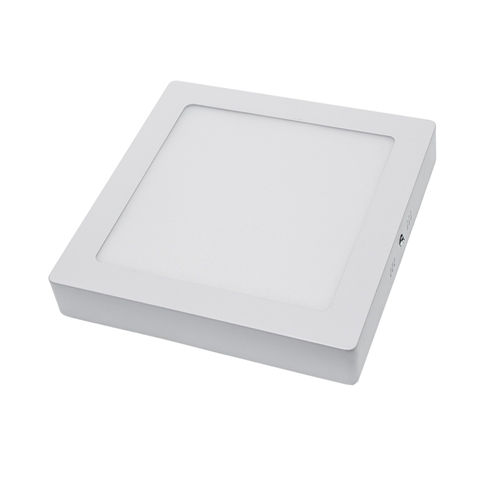 2241 :: PLAFONNIER LED SURFACE CARRE 18W BLANC PUR