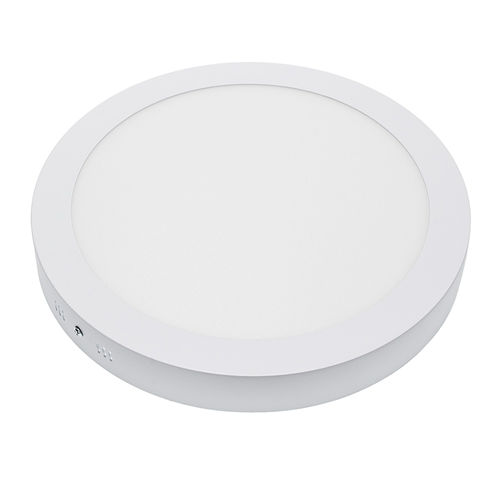 2250 :: PLAFONNIER LED SURFACE ROND 24W BLANC CHAUD