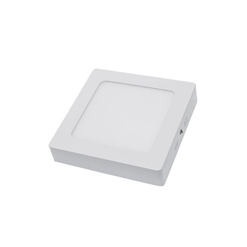 2252 :: PLAFONNIER LED SURFACE CARRE 12W BLANC PUR