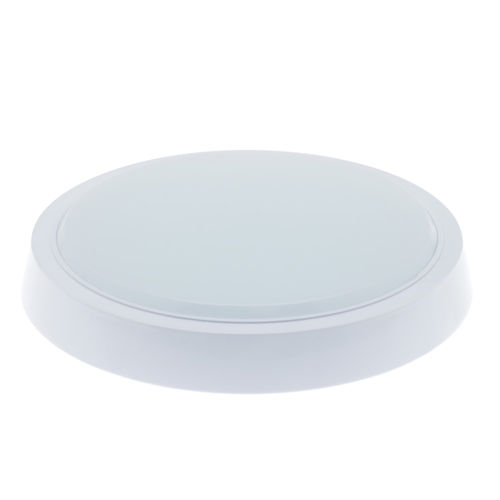2273 :: PLAFONNIER LED SURFACE ROND 24W BLANC PUR
