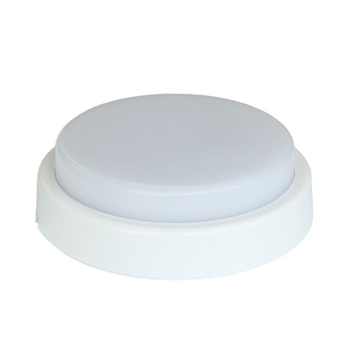 2284 :: PLAFONNIER LED ETANCHE SURFACE ROND  12W BLANC NATUREL