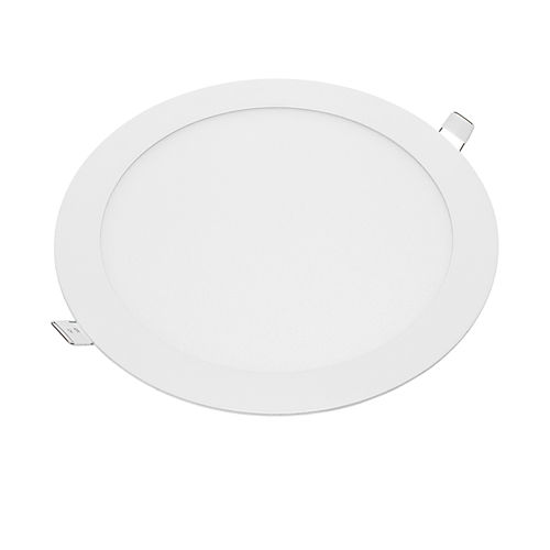 2440 :: MINI PANNEAU LED ENCASTRABLE ROND 18W BLANC NATUREL