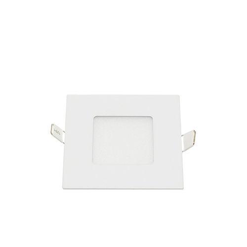 2446-MINI PANNEAU LED ENCASTRABLE CARRE 3W BLANC CHAUD :: + infos - Devis