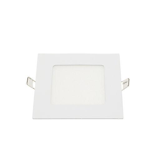 2449-MINI PANNEAU LED ENCASTRABLE CARRE 6W BLANC CHAUD :: + infos - Devis
