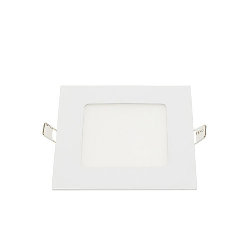 2451 :: MINI PANNEAU LED ENCASTRABLE CARRE 12W BLANC NATUREL