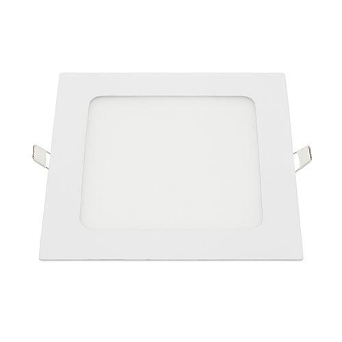 2453-MINI PANNEAU LED ENCASTRABLE CARRE 18W BLANC CHAUD :: + infos - Devis