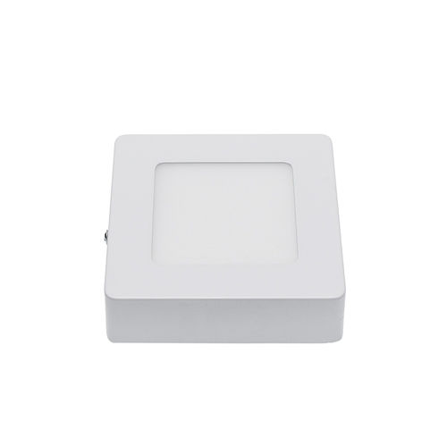2525-PLAFONNIER LED EPISTAR SURFACE CARRE 6W BLANC CHAUD :: + infos - Devis