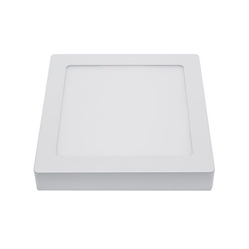 2531 :: PLAFONNIER LED EPISTAR SURFACE CARRE 18W BLANC CHAUD
