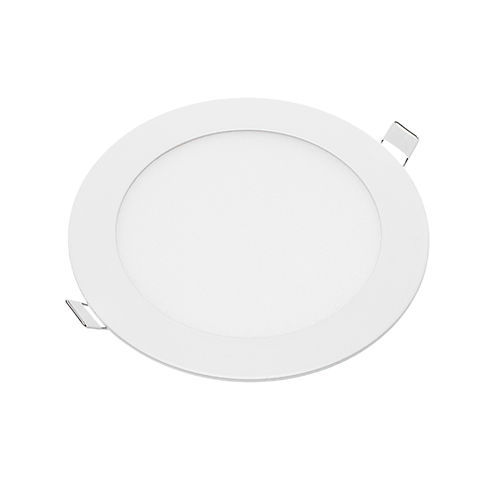 2605 :: MINI PANNEAU LED ENCASTRABLE ROND 12W BLANC NATUREL CRI95