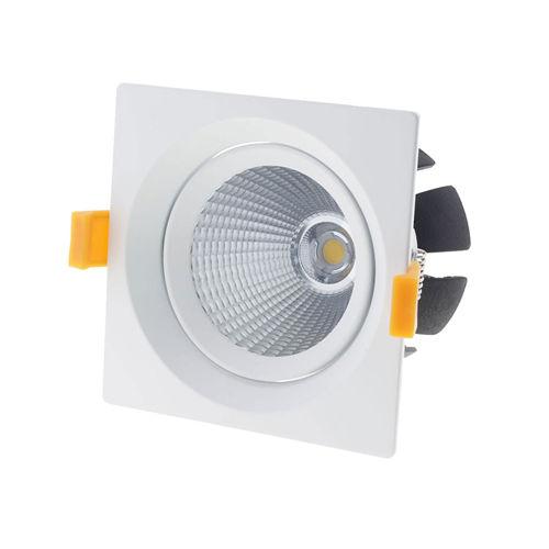 3234 :: PLAFONNIER LED COB ENCASTRABLE ORIENTABLE 20W BLANC NATUREL