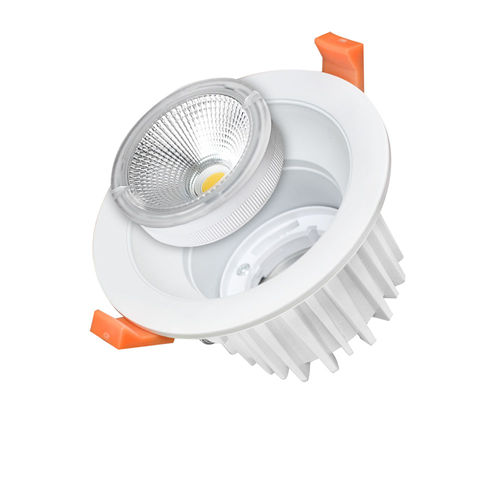 3241 :: PLAFONNIER LED COB ENCASTRABLE EXCHANGEABLE 25W BLANC PUR
