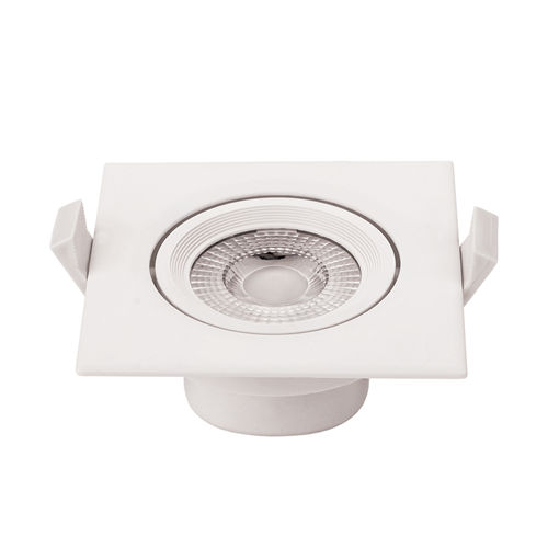 3268 :: PLAFONNIER LED COB ENCASTRABLE ORIENTABLE 5W BLANC NATUREL