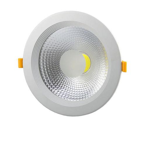 3270 :: PLAFONNIER LED COB 15W 145 DEGRES TUV BLANC PUR