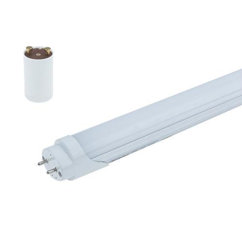 5611-M :: TUBE LED T8 STARTER UNI-COTE 60CM MAT BLANC PUR 9W