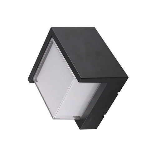 7530-LAMPE MURALE CORPS NOIR IP65 BLANC CHAUD :: + infos - Devis
