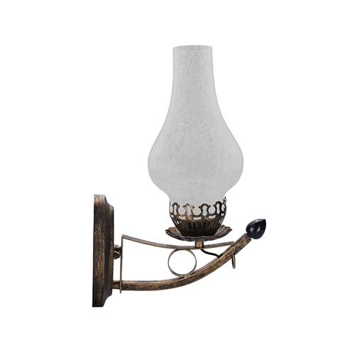9044-LAMPE FLAMME MURALE COULEUR BRONZE 5W 220V :: + infos - Devis