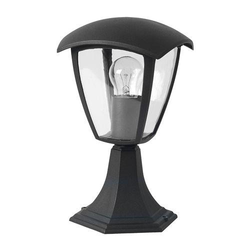 9305 :: LAMPE ALUMINIUM  NOIR POUR AMPOULE E27