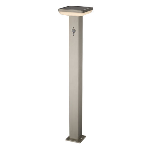 9339-LAMPE LED SOLAIRE PELOUSE ALUMINIUM 600LM AVEC DETECTEUR :: + infos - Devis